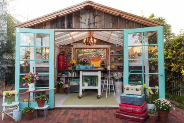 featured posts image for 30+ Wonderfully Inspiring She Shed Ideas For Your Backyard Getaway