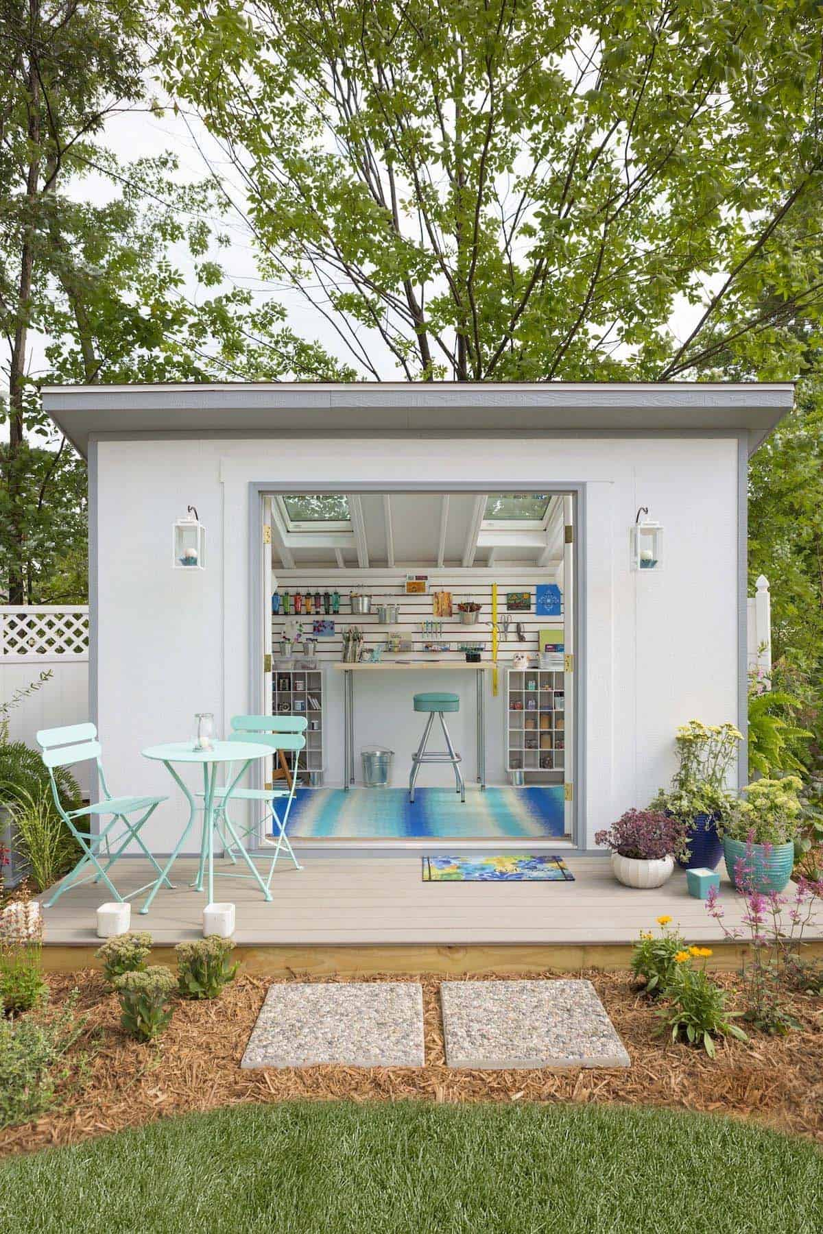 30 Wonderfully Inspiring She Shed Ideas To Adorn Your