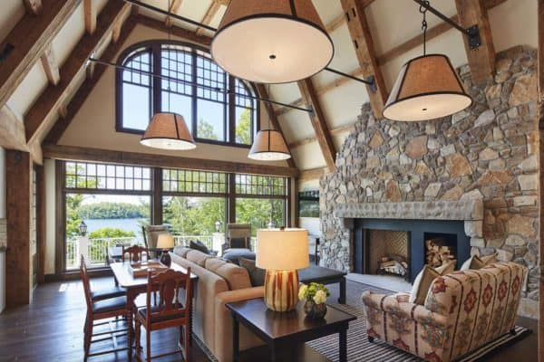 featured posts image for Shingle style lake house offers a peaceful respite in Northern Minnesota