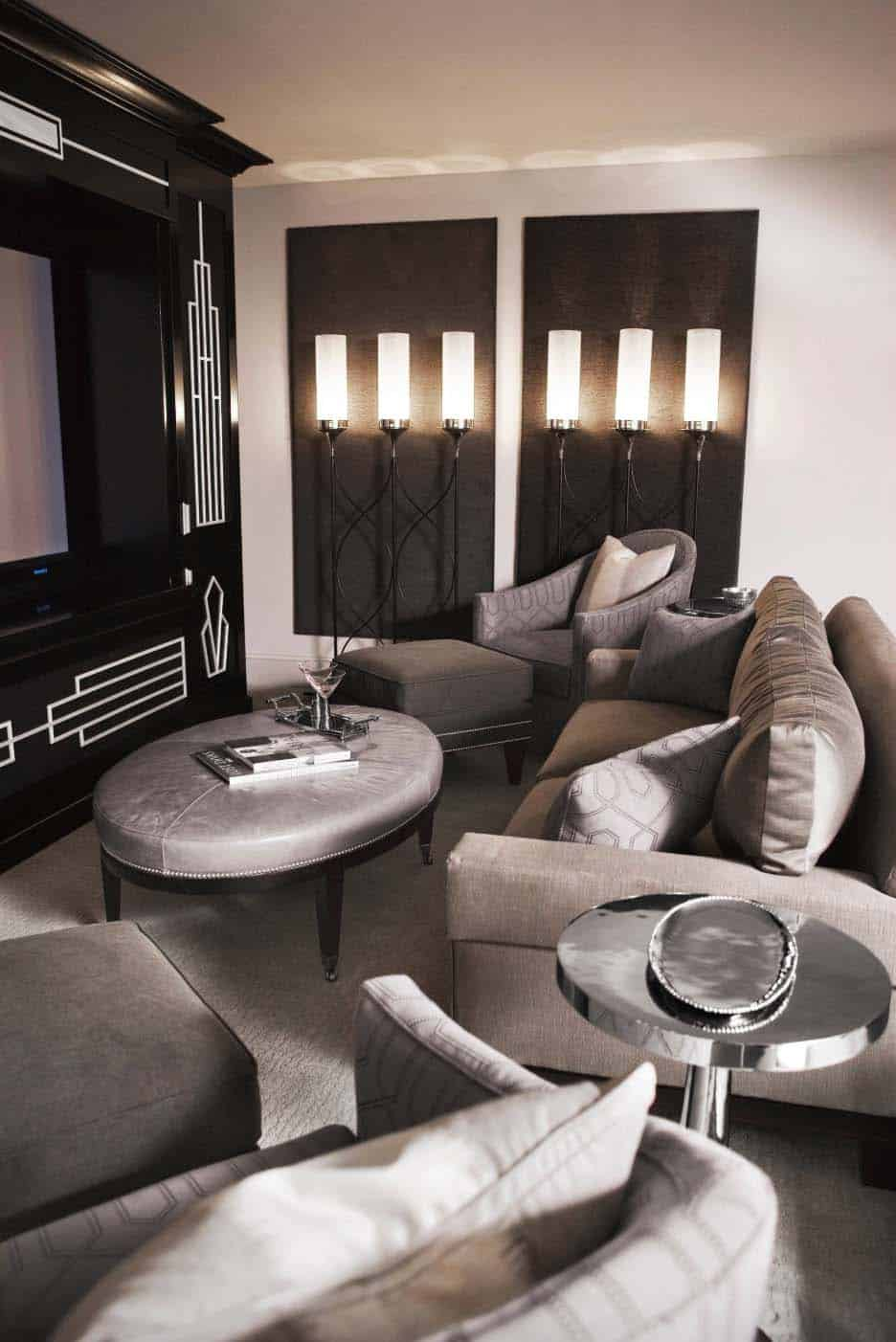 lake-residence-transitional-home-theater