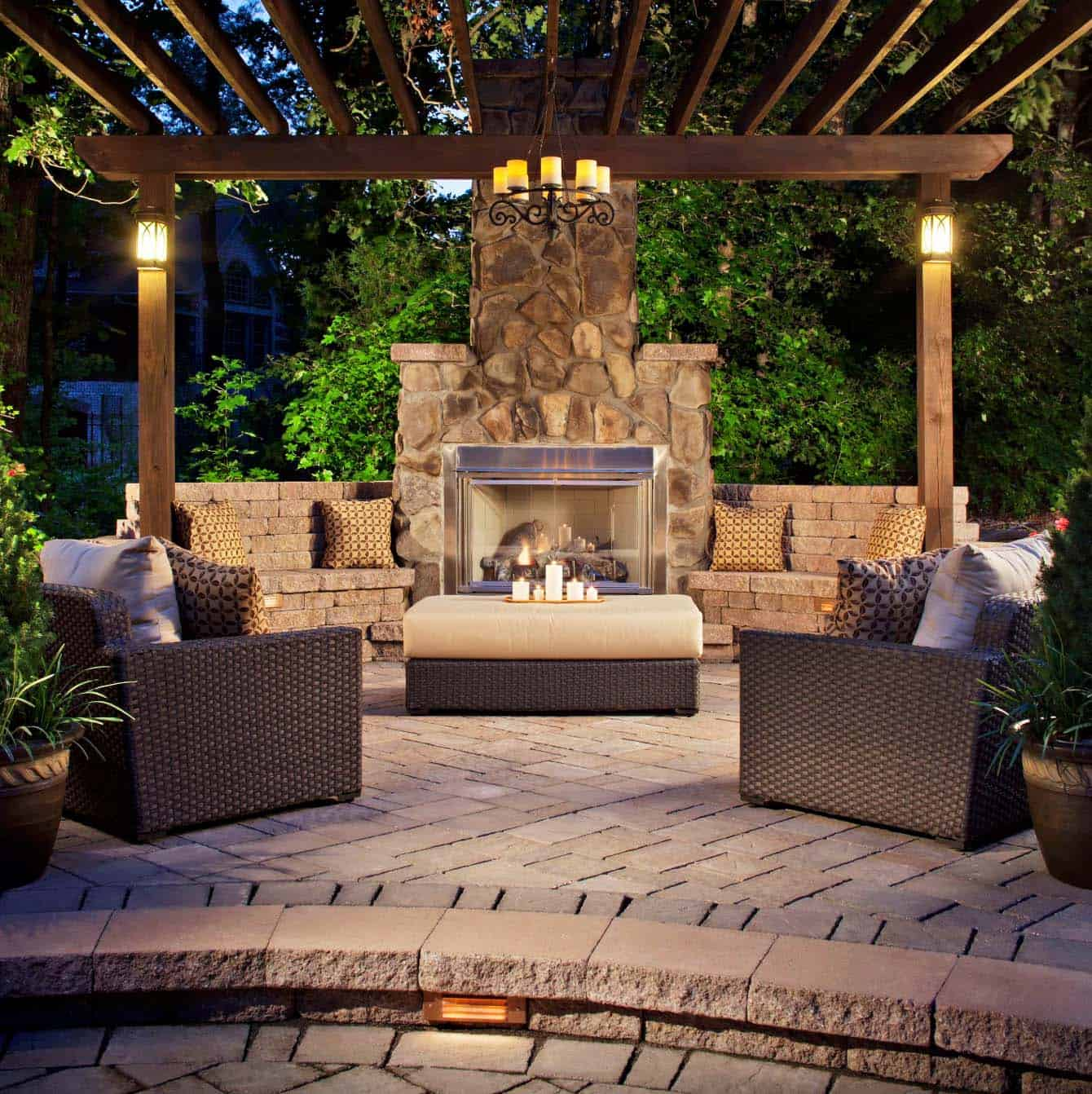 20 Amazing Pergola Ideas For Shading Your Backyard Patio