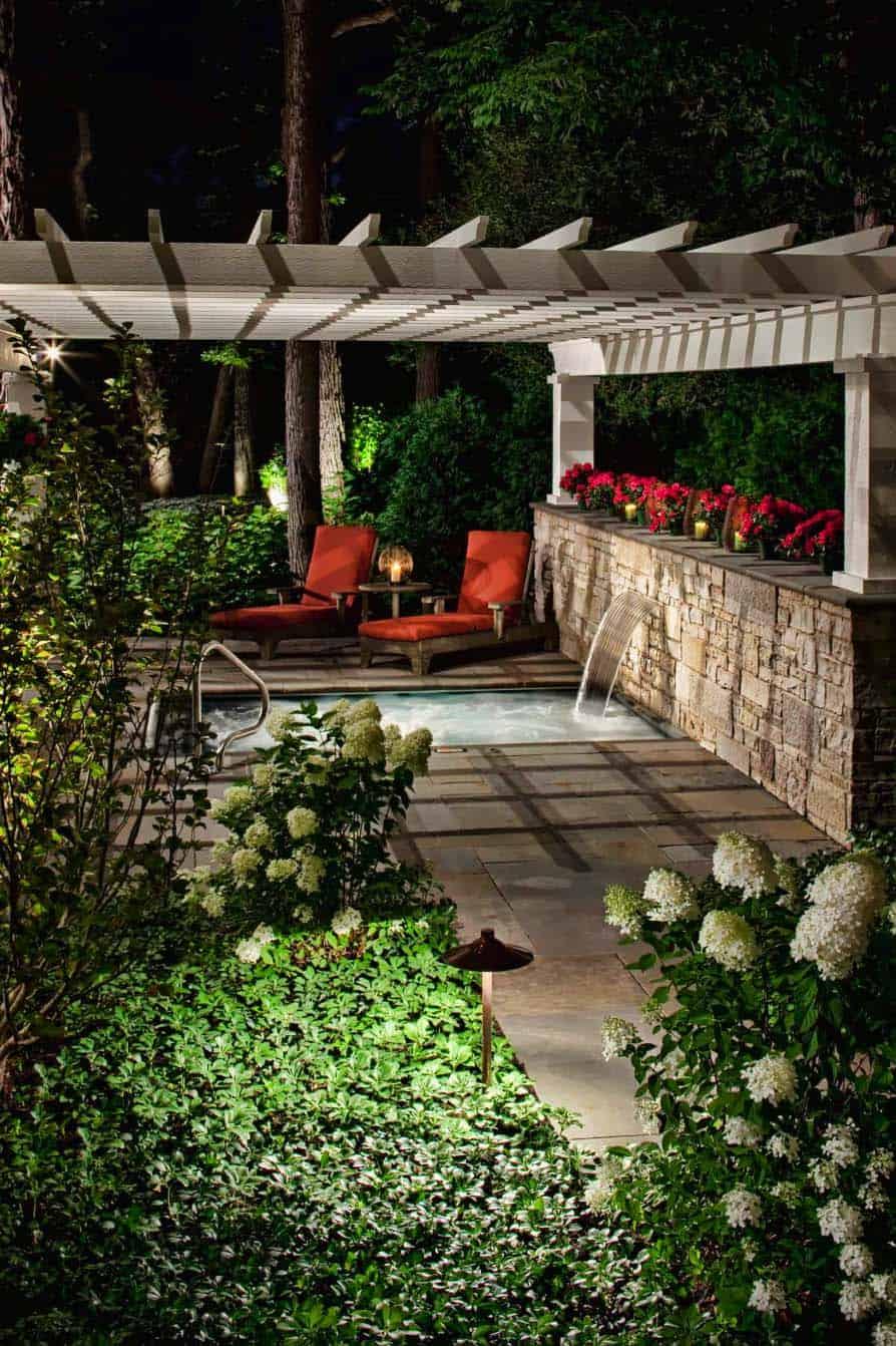 backyard-patio-pergola-hot-tub