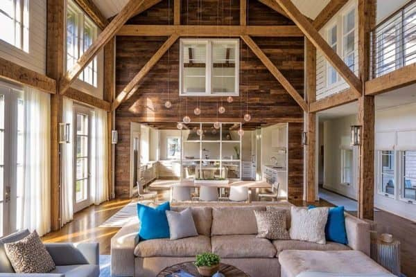 featured posts image for Barn-style dream house with coastal vibe on shores of Cape Cod