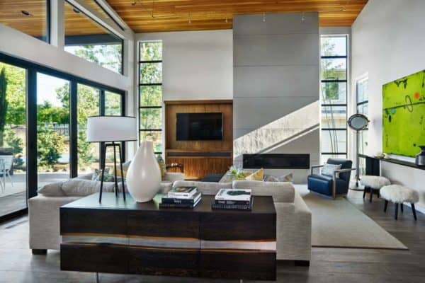 featured posts image for Radiant contemporary home in Oregon filled with impressive design details