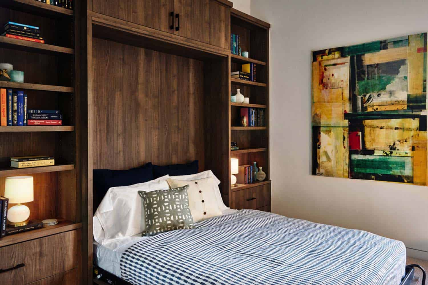 contemporary-home-office-murphy-bed