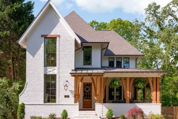 featured posts image for Eclectic dream house in North Carolina with inspiring design details