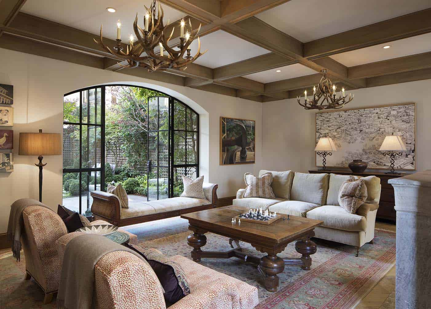 english-gothic-residence-traditional-living-room