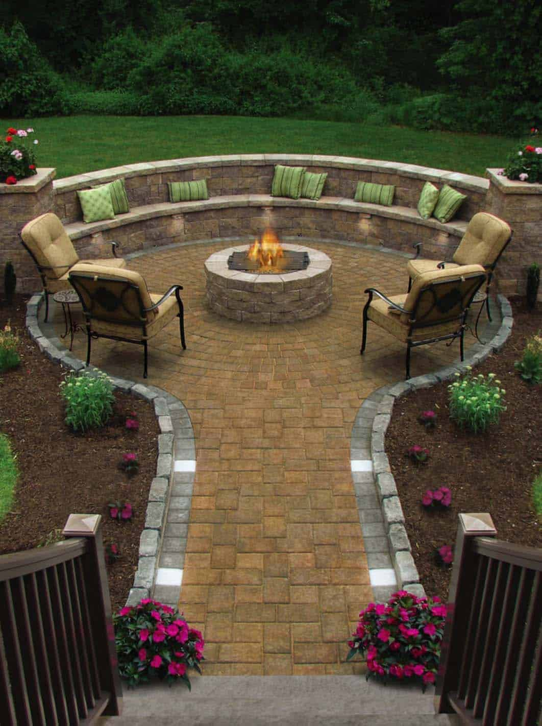 28 Inspiring Fire Pit Ideas To Create A Fabulous Backyard ...