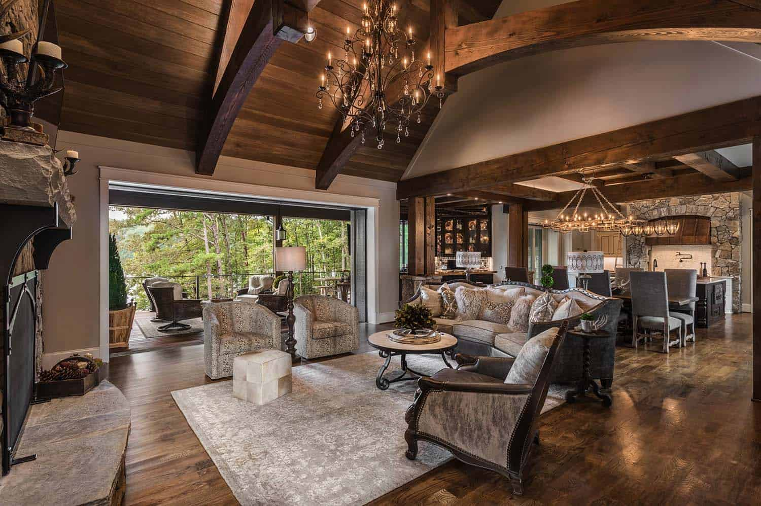 custom-home-rustic-living-room
