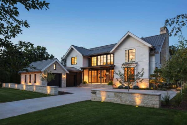 featured posts image for Fabulous modern farmhouse with delightful details in Minnesota