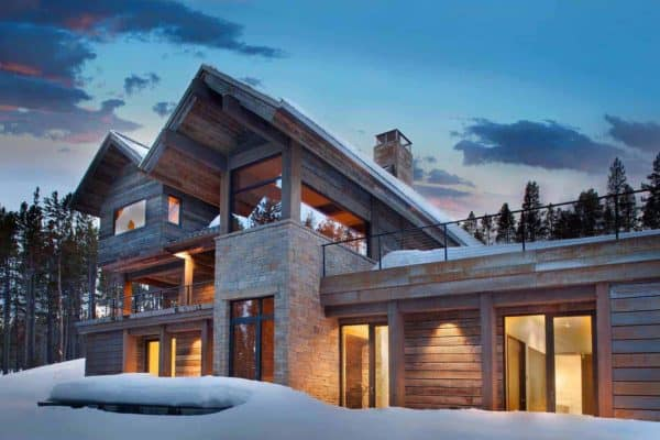 featured posts image for A forested contemporary retreat in the picturesque Rocky Mountains