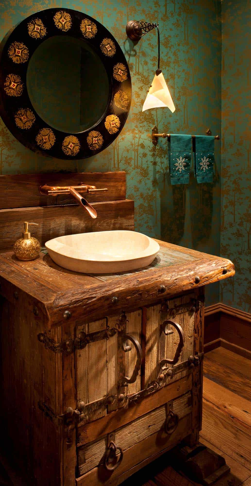 rustic-contemporary-powder-bathroom