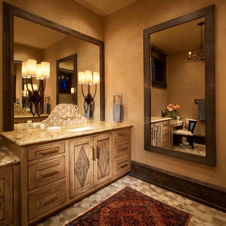rustic-contemporary-master-bathroom