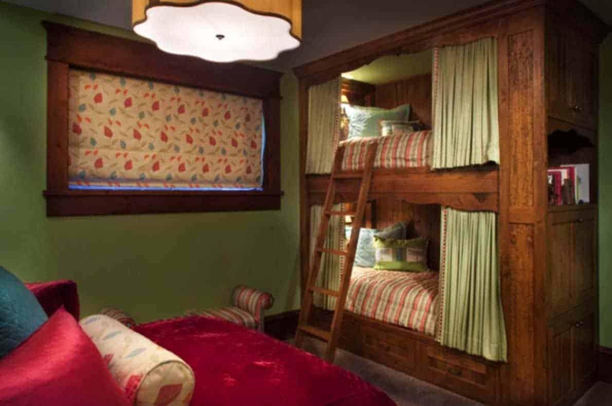 rustic-contemporary-bunk-bedroom
