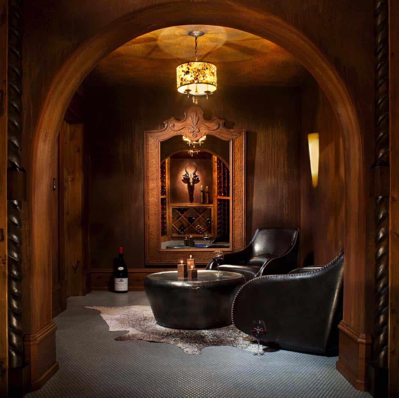 rustic-contemporary-wine-cellar