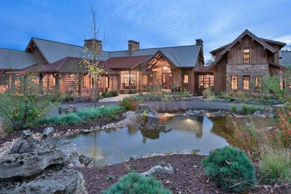 featured posts image for Inside an insanely gorgeous rustic retreat overlooking Table Rock Lake