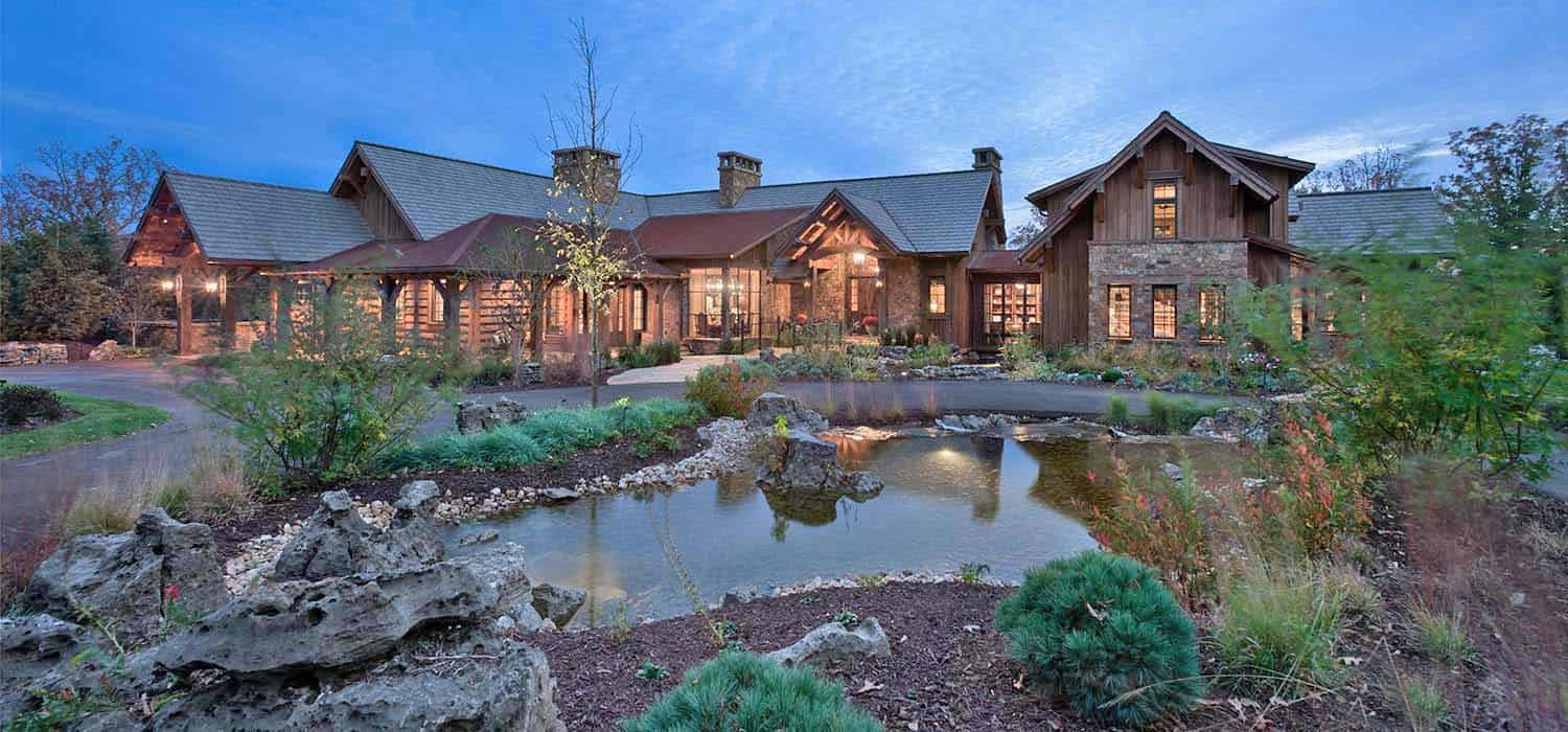 Outstanding Inside An Insanely Gorgeous Rustic Retreat Overlooking Table Download Free Architecture Designs Embacsunscenecom