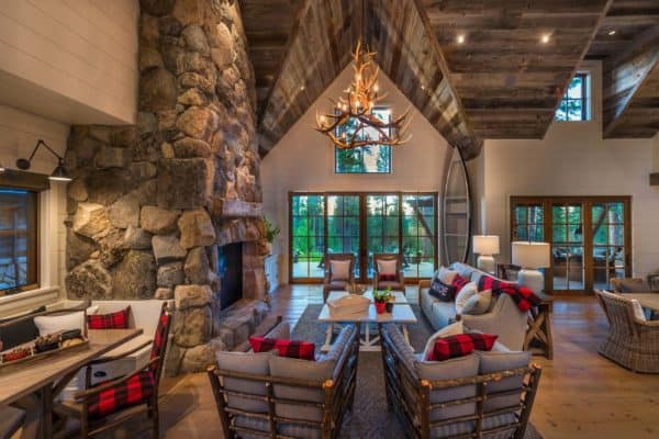 featured posts image for Wonderful rustic mountain farmhouse retreat in scenic Martis Valley