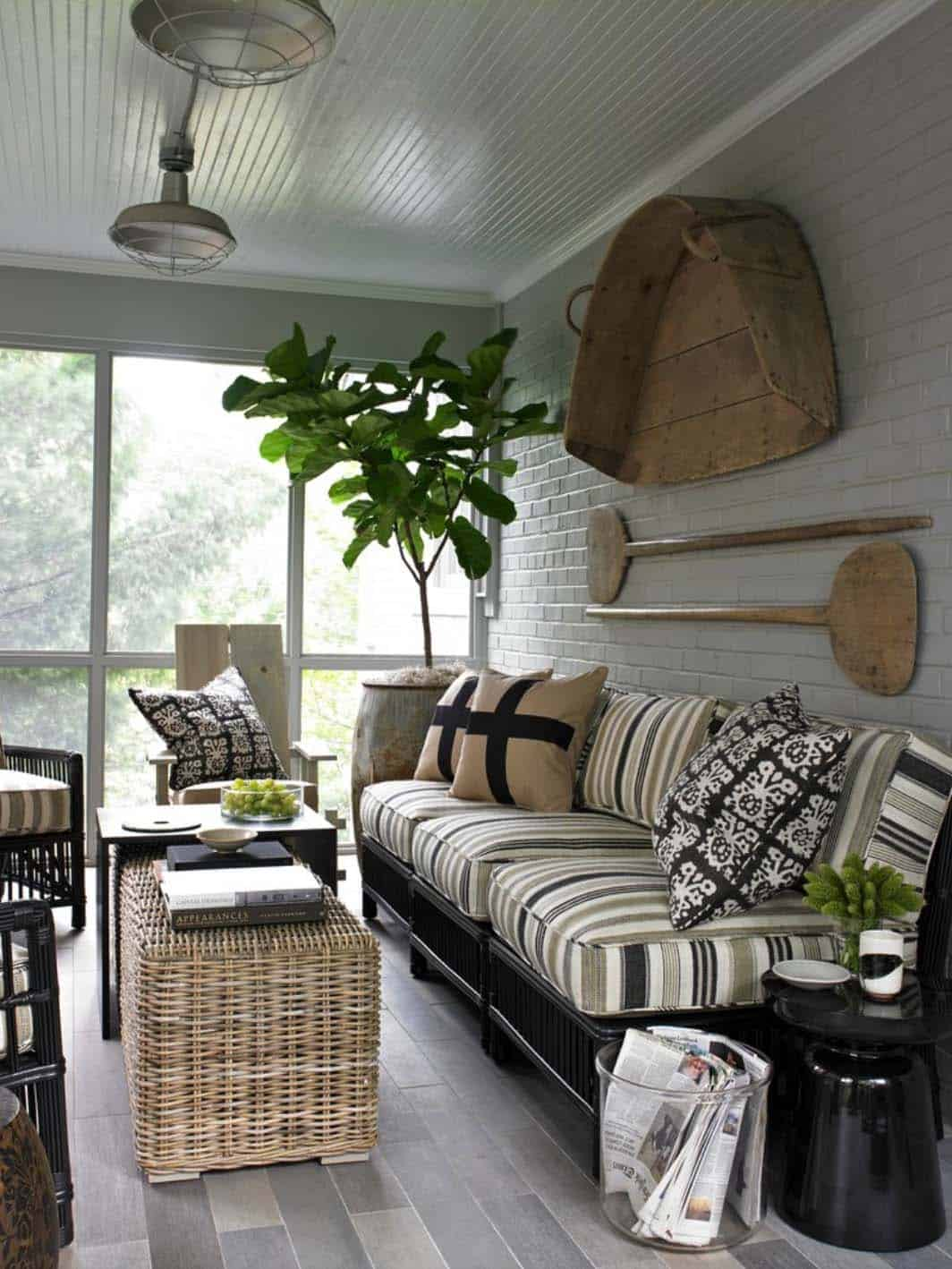 Screened In Porch Decorating Ideas Small Sofas