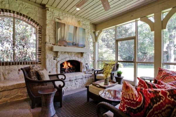 featured posts image for 30 Delightful And Intimate Three-Season Screened Porch Ideas