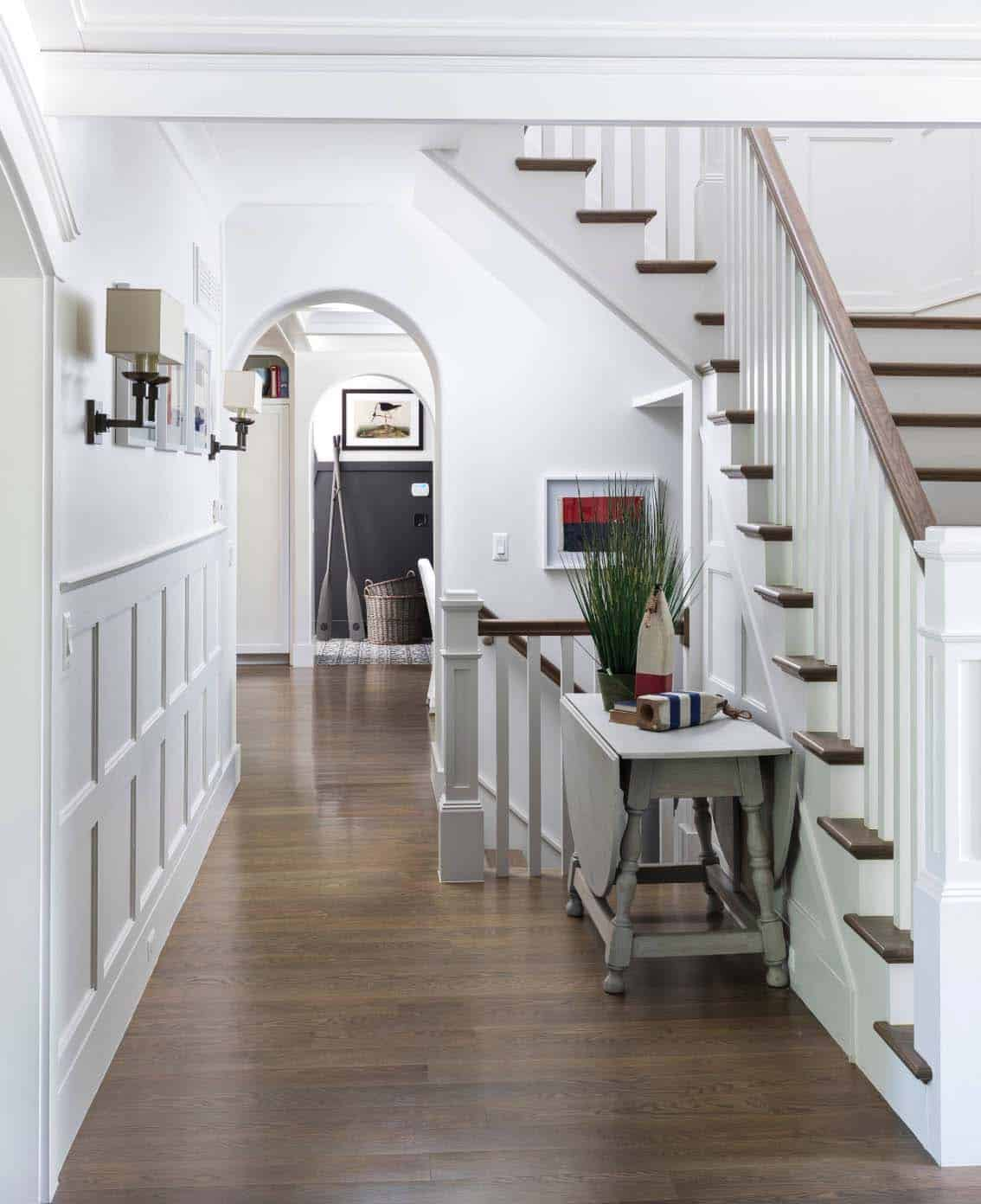 hallway-with-staircase-beach-style-entry