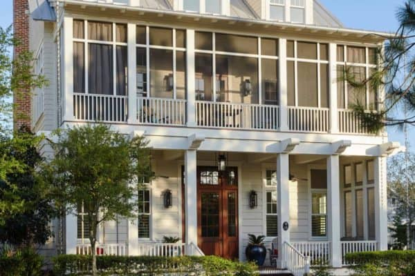 featured posts image for Inside a dreamy Florida beach house that uses reclaimed materials