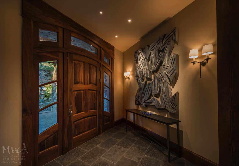 contemporary-mountain-home-entry