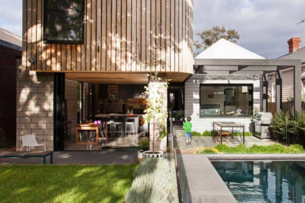 featured posts image for Fabulous Edwardian home in Australia gets a prefab modular addition