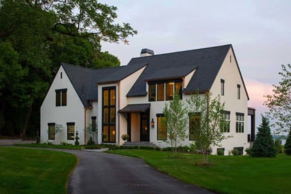 featured posts image for Dutch Colonial influenced home with a modern twist on Lake Minnetonka