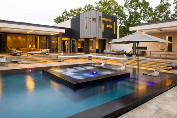 featured posts image for Striking modern home in East Hampton expressing indoor-outdoor living