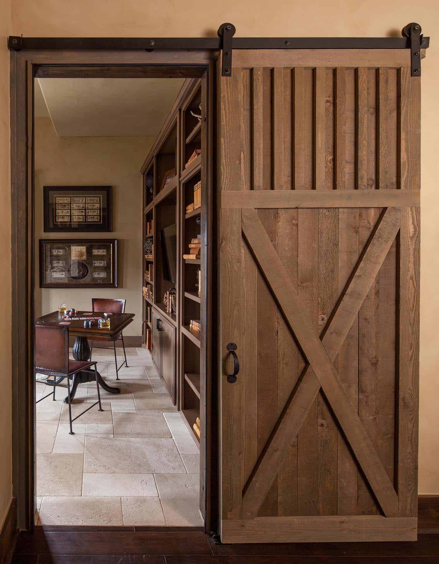 rustic-home-office-sliding-barn-door