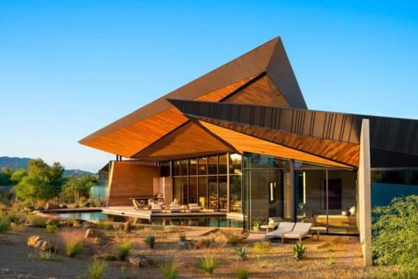 featured posts image for Rammed earth home is architectural masterpiece in the Arizona desert