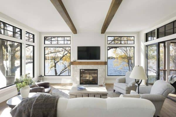 featured posts image for Gorgeous farmhouse style on Lake Minnetonka with nautical accents
