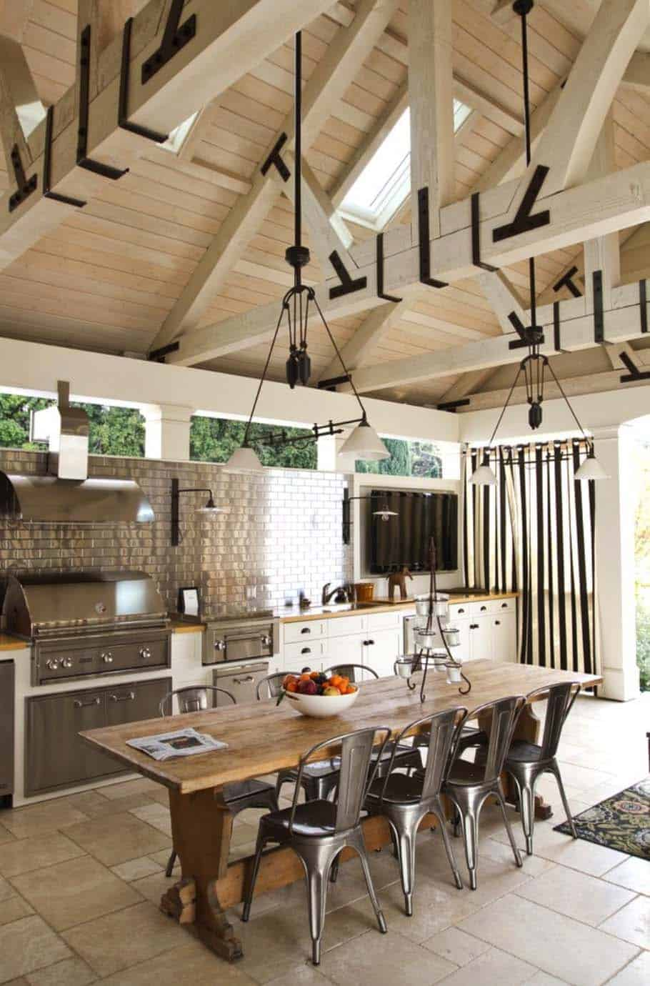 farmhouse-style-indoor-outdoor-kitchen