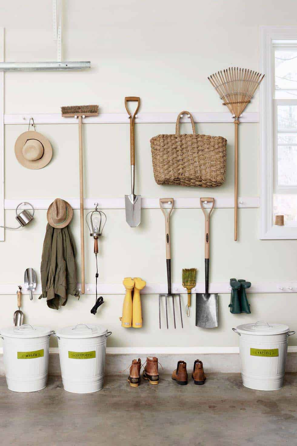 30 Brilliant And Inspiring Storage Ideas For Your Potting Shed