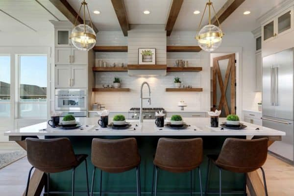 featured posts image for This stunning modern farmhouse in Idaho will take your breath away