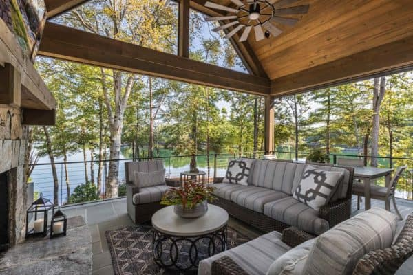 featured posts image for Beautiful rustic home surrounded by a tranquil setting on Lake Keowee