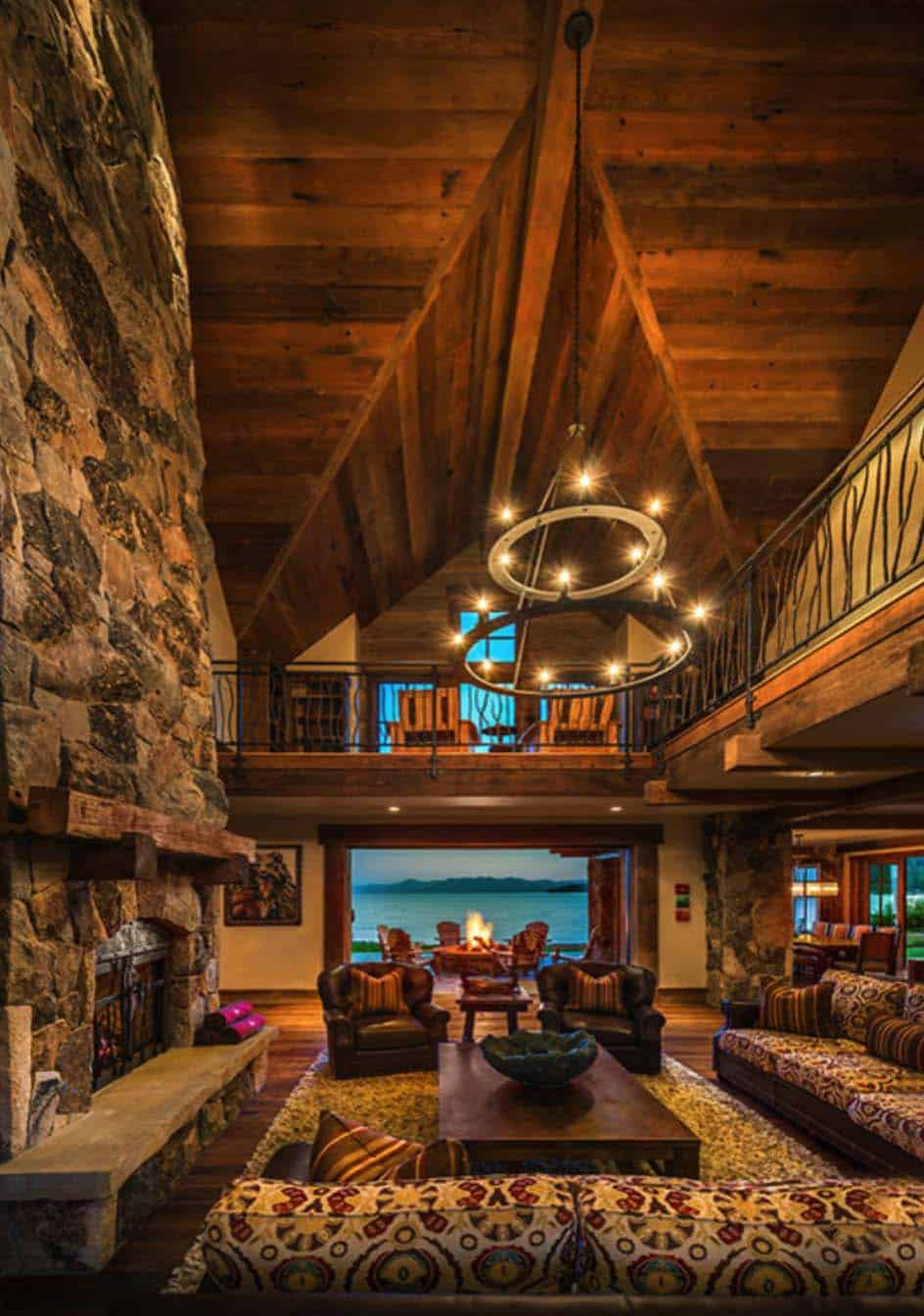 lake-house-rustic-living-room