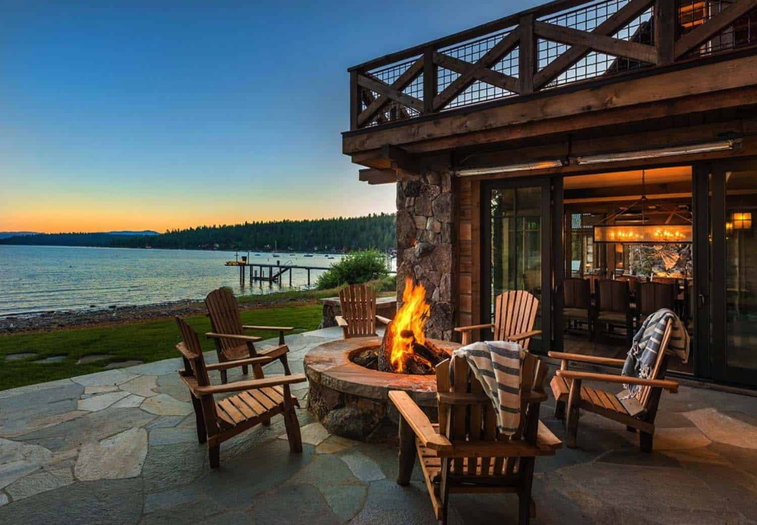 rustic-lakefront-mountain-cabin-patio