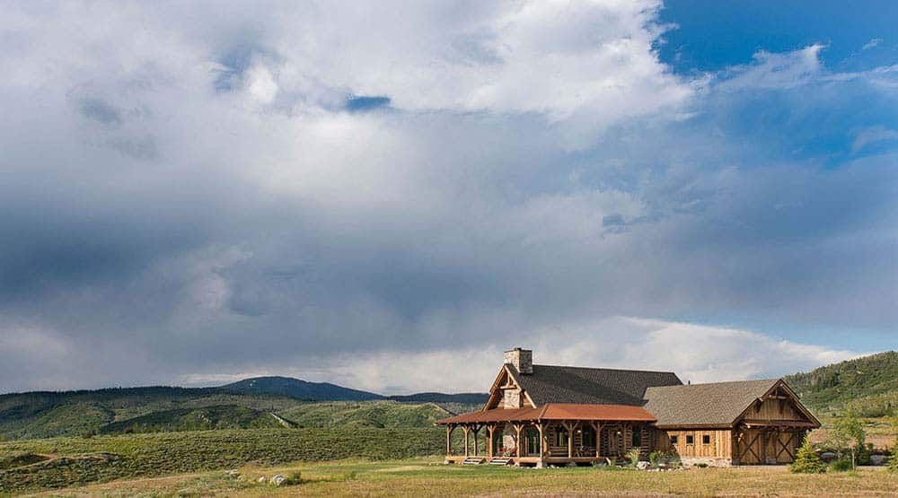 Tour This Stunning Rustic Timber Frame Cabin In Steamboat Springs