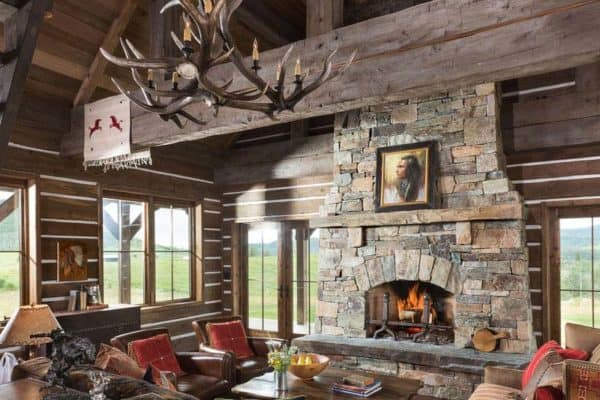 featured posts image for Tour this stunning rustic timber frame cabin in Steamboat Springs