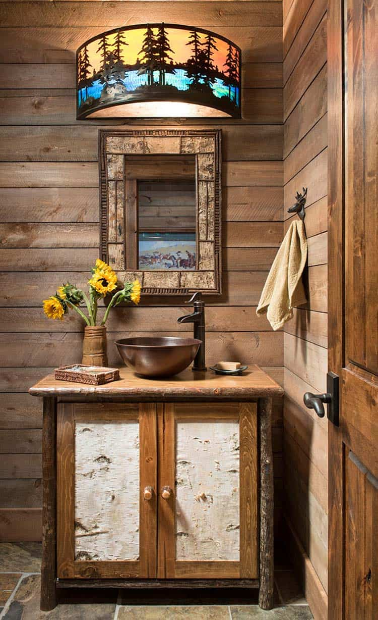 Tour This Stunning Rustic Timber Frame Cabin In Steamboat