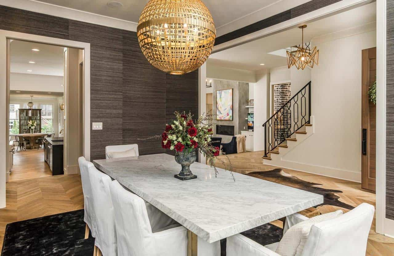 transitional-style-dining-room