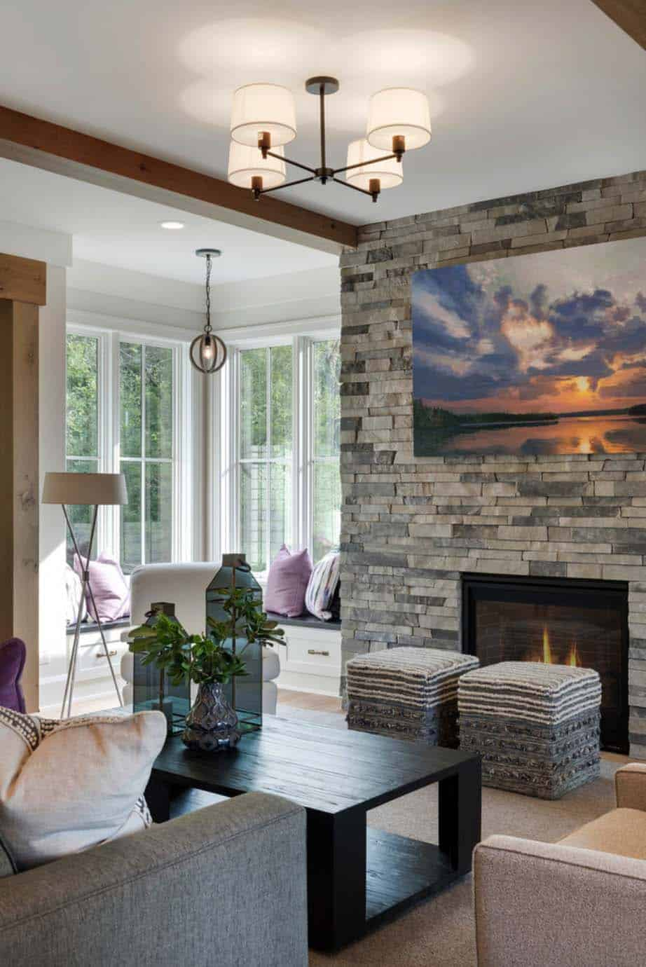 transitional-lake-house-family-room