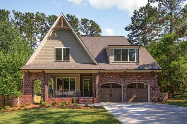 featured posts image for Beautiful Euro-Craftsman home with charming details in North Carolina