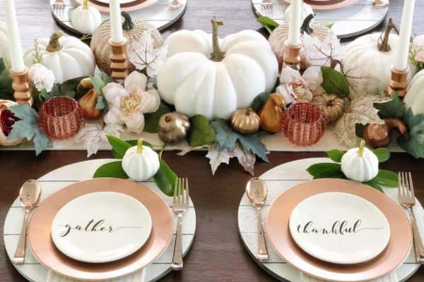 featured posts image for 30 Absolutely Amazing Fall Table Decor Ideas For Entertaining