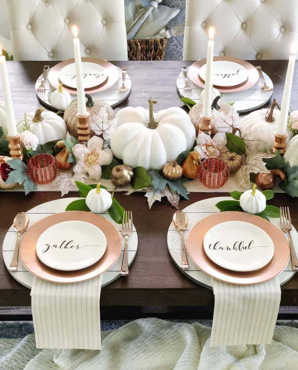 28 Absolutely Amazing Fall Table Decor Ideas For Entertaining