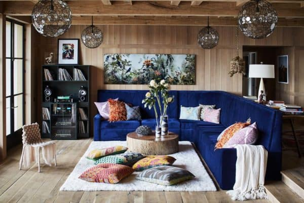 featured posts image for Tour this ranch-style home with a playful Bohemian vibe on Lake Austin