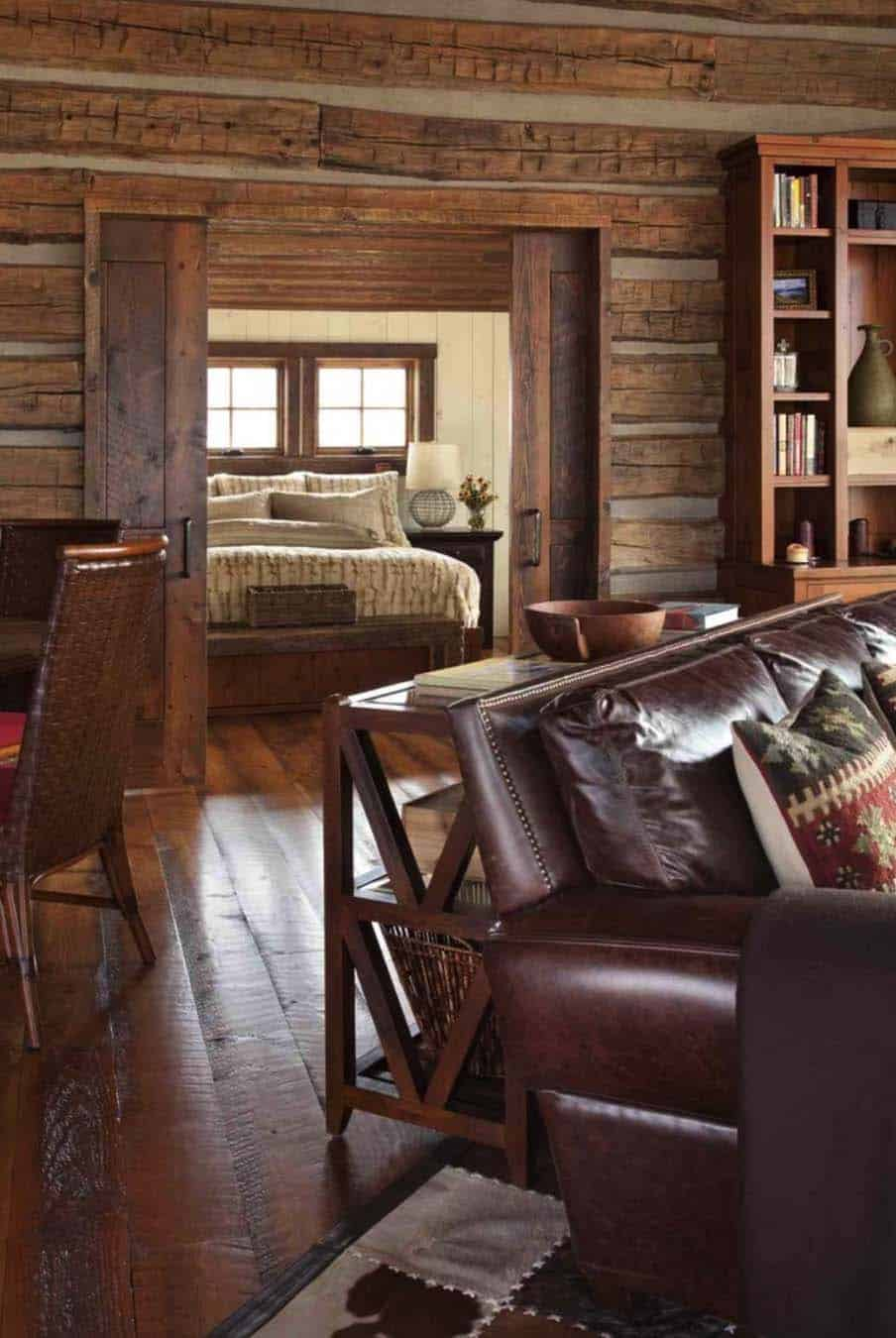 family-cabin-retreat-rustic-living-room