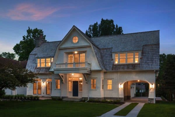 featured posts image for Beautiful dutch gambrel shingle-style lake cottage in Minnesota